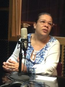 Arleth Barradas Jefa del Departamento de Medios Audiovisuales de la UV.