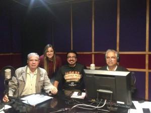 Miguel; Linda; Giova García y Manuel